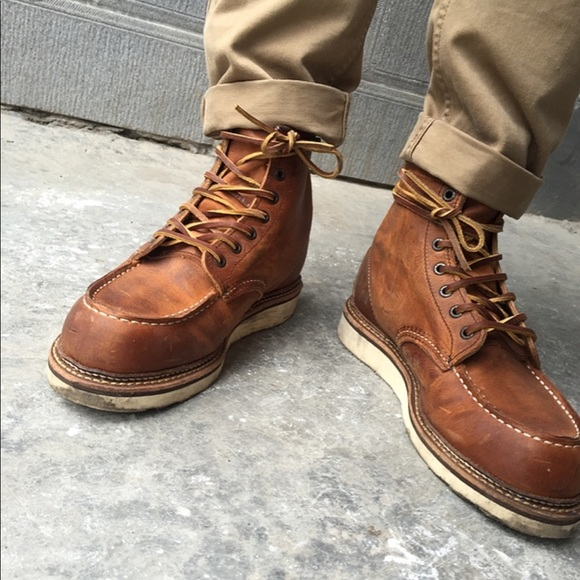 Red Wing Classic Moc Toe Style 97 Boots